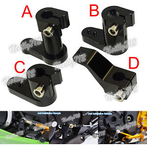 2014-2017 Front Rear Shift Levers Shifter Pegs Kit for Harley Touring Anzio Chrome Black CNC Brake Arm Pedal