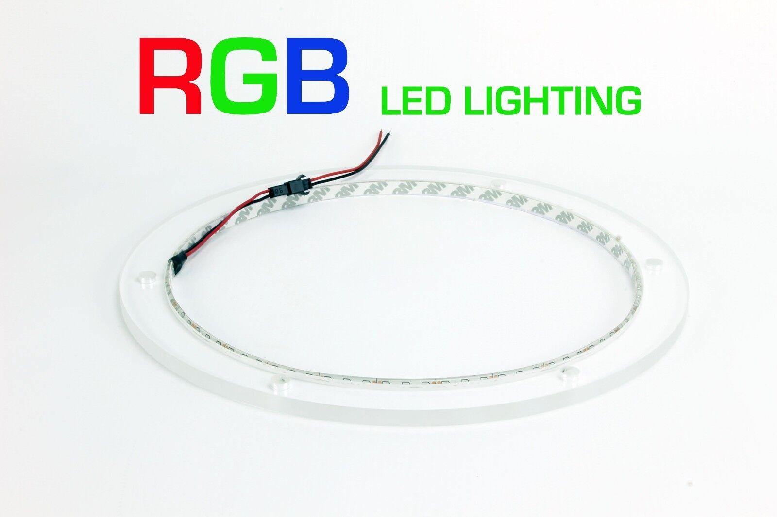 5pc RGB LED Speaker Rings for Mastercraft JL Audio M770 M10IB5 Ready to Install!