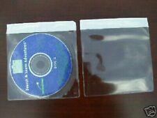 1000 Vinyl Cd Dvd Sleeve W Adhesive Strip V2 Free Ground Shipping Sales
