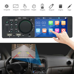 NEW-4-1-034-Single-DIN-Car-Stereo-Radio-MP5-touch-Screen-Player-Bluetooth-Remote