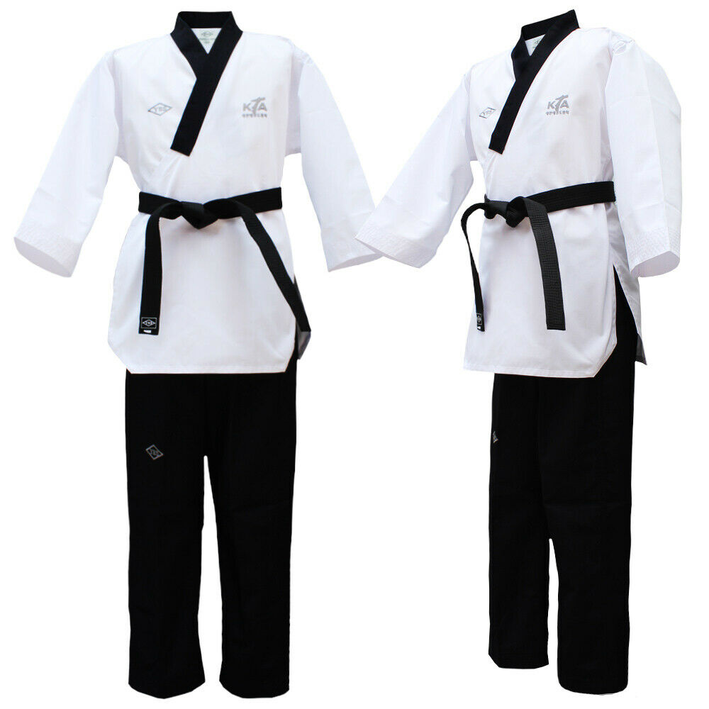 YES Taekwondo Poomsae Dan Dobok  for male Approved by KTA Poomsae Dan uniform Gis  there are more brands of high-quality goods