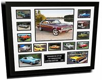 Monaro First Generation Hk Ht Hg Limited Edition Framed Memorabilia