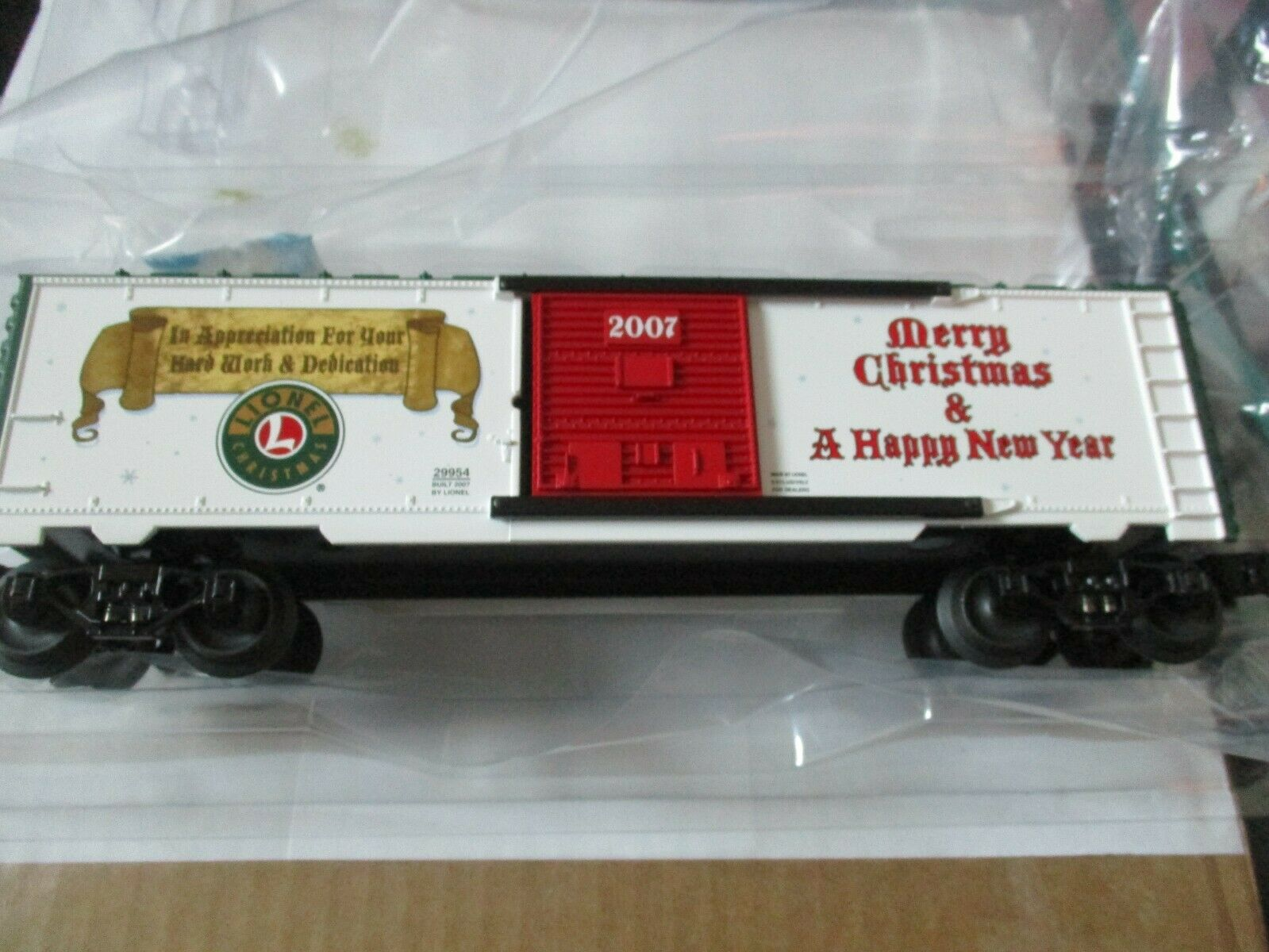 Lionel 629954 2007  Dealers Appreciation Christmas scatolaauto OScale
