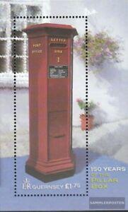 GB-Guernsey-Block30-kompl-Ausg-postfrisch-2002-Briefkasten