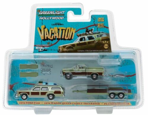 1972 Ford Trailer Wagon Family Truckster Lampoons Vacation **Greenlight 1:64