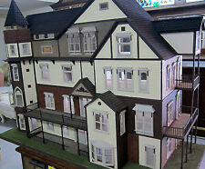 Vintage Four Story Victorian Doll House