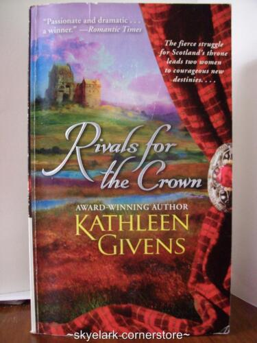 1 of 1 - Kathleen Givens *Rivals For The Crown* #2 Highland-Historical Romance Fiction!