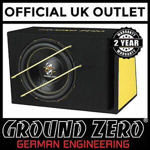 Ground-Zero-GZIB-3000XSPL-12-034-1000-W-Active-Car-Bass-Box-Sub-Subwoofer-Enclosure