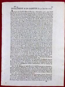 Prytanee-Militaire-de-La-Fleche-1777-Organisation-Ecole-militaire-Gazette-France