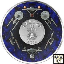 2016 'Star Trek(TM) ; Enterprise' 25-Cent Colorized Coin and Stamp Set (17687)