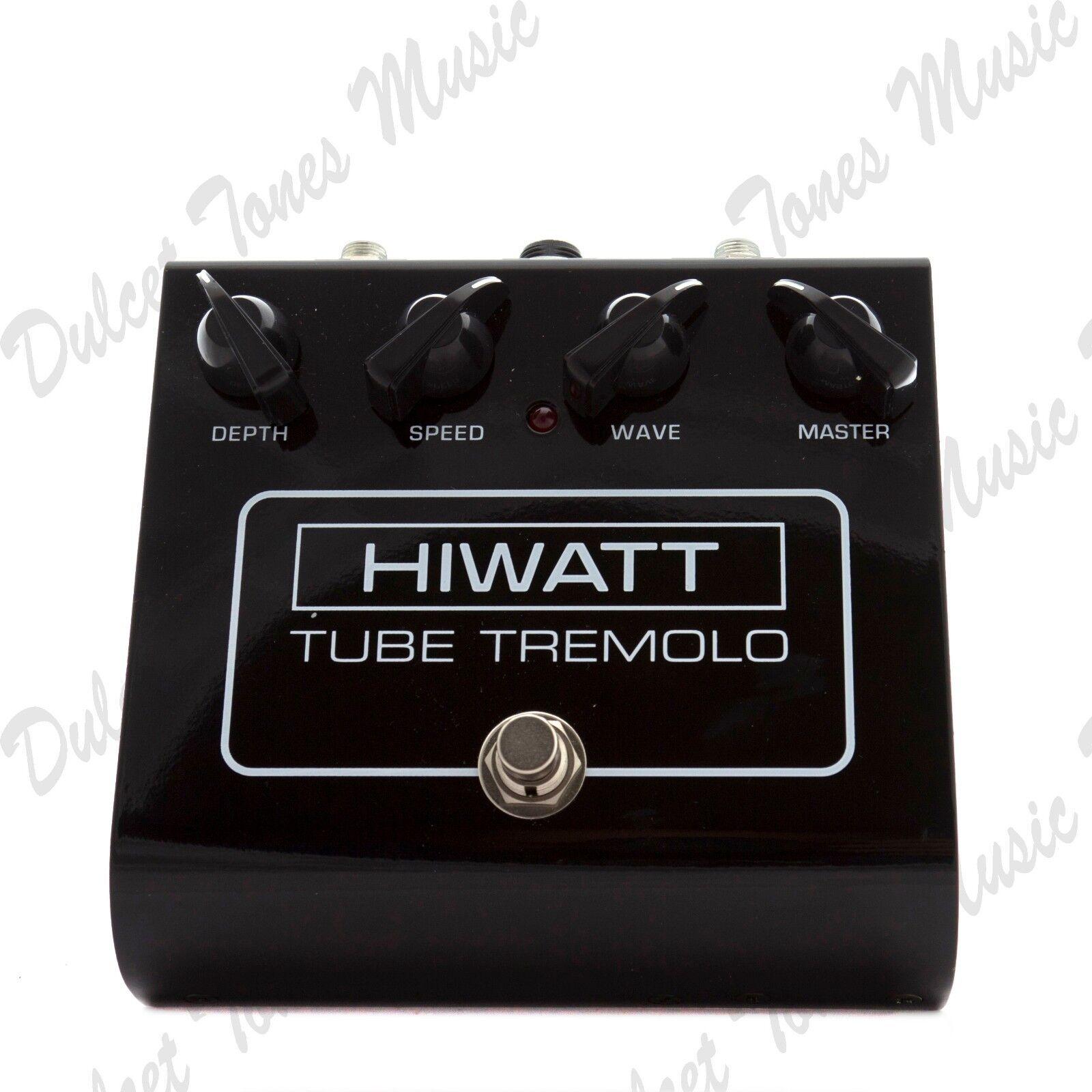 HiWatt Tube Tremolo Guitar Effects Pedal FAST DISPATCH