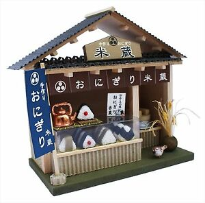 Billy Handmade Dollhouse Kit Street Corner Shop Kit Rice Ball Shop Onigiri 8773