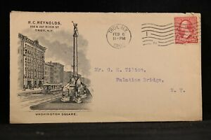 New-York-Troy-1903-Reynold-039-s-Store-Washington-Square-Advertising-Cover