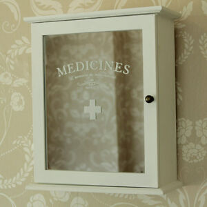 small white mirrored bathroom kitchen medicine cabinet