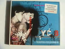 YC 8 YOUTH CULTURE  ATMOSPHERE DIGIPAK RARE LIBRARY MUSIC SOUNDS CD