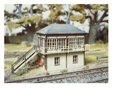 Ratio 236 - Midland Signal Box - N Gauge Plastic Kit - Tracked 48 Post
