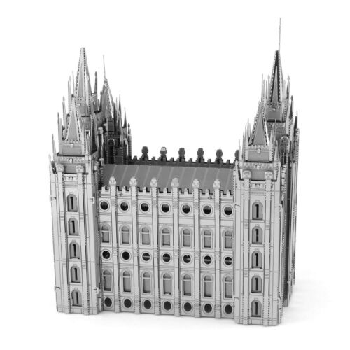 Fascinations ICONX SALT LAKE CITY TEMPLE 3D Metal Earth DIY Model Kit ICX027