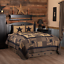 BLACK-CHECK-STAR-QUILT-SET-amp-ACCESSORIES-CHOOSE-SIZE-amp-ACCESSORIES-VHC-BRANDS thumbnail 1