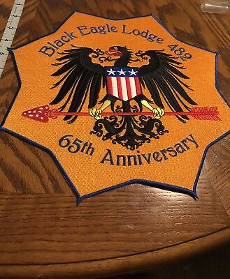 Black Eagle Lodge 482 Transatlantic Council Sixty Fifth Anniversary Flap