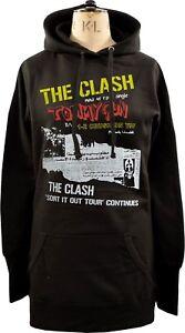 Original Clash Hoodie Womens xl Punk London Dress 1977 S Gun Tommy 45 Singolo T8waUqEw