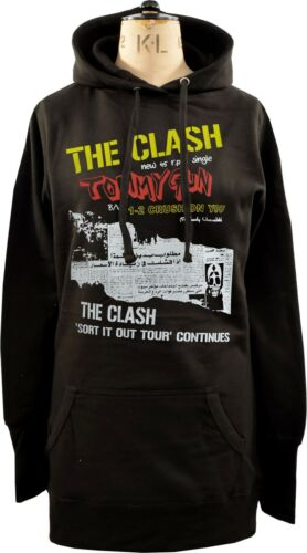 Punk Hoodie Womens Singolo 1977 xl London Original Dress Clash Gun 45 Tommy S zTdTYrq