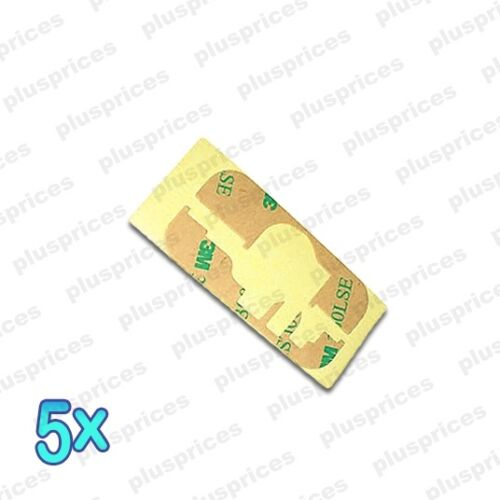 5 lot Apple iPhone 3GS 3G 3M Tape Screen Adhesive Glue Sticker pack x5
