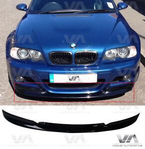 Bmw M3 E46 Csl Front Lip Spoiler Splitter Ebay
