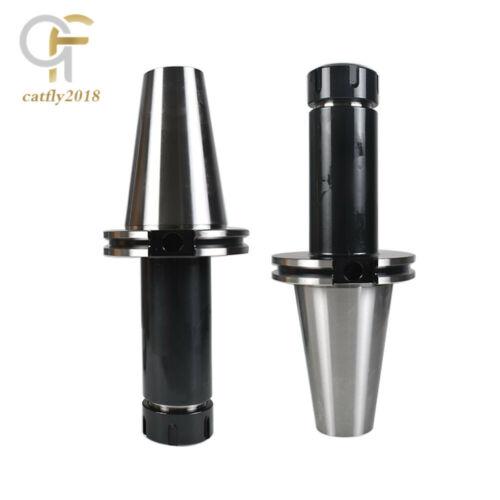 """2Pcs CAT50-ER32 COLLET CHUCK 6/"""" Gage Length Tool Holder Set For CNC Milling"""