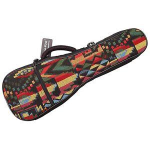 Thick Padded Woven Cotton Concert Ukulele Gig Bag 23 Ukulele Case Uke Carry Bag Ebay