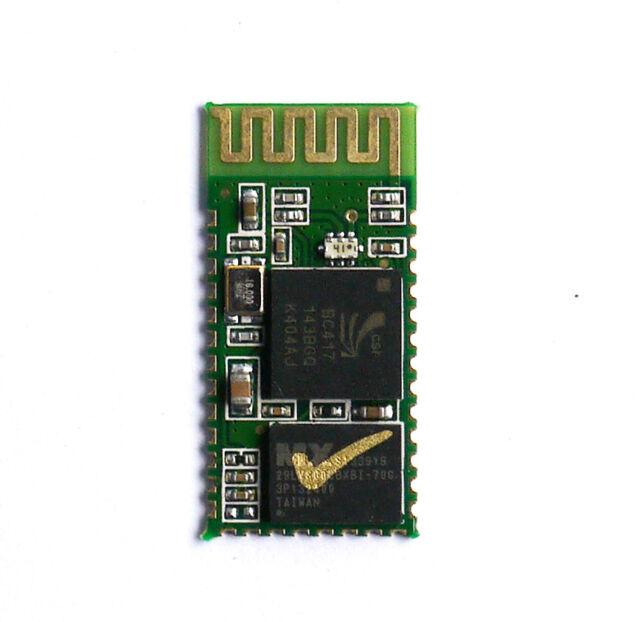 1Pcs Serial RS232 TTL HC-05 30ft Wireless Bluetooth RF Transceiver Module 2 in 1