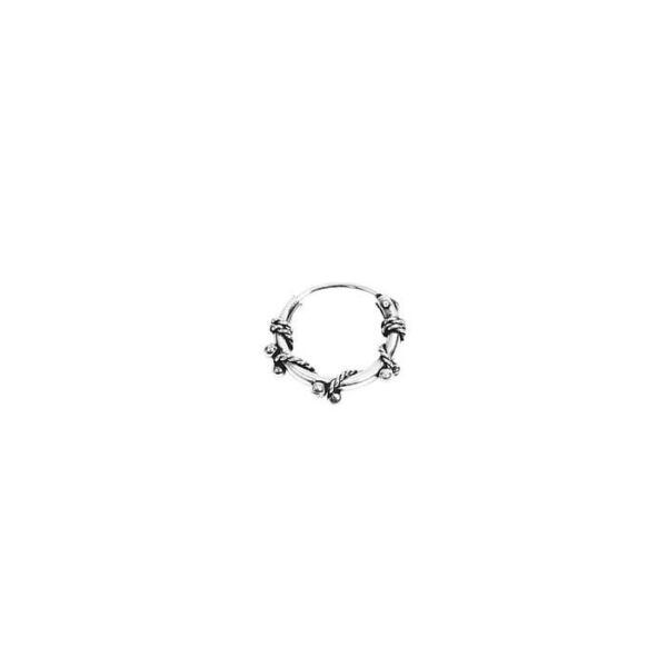 100% QualitäT Single 925 Sterling Silber Keltische Celtic Bali Asea Creole Mit Kugeln 12mm 711 Von Der Konsumierenden öFfentlichkeit Hoch Gelobt Und GeschäTzt Zu Werden