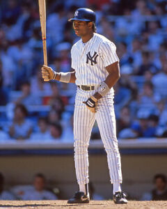 innovative design 0d5d8 33ce9 Details about 1989 New York Yankees DEION SANDERS Glossy 8x10 Photo Print  Rookie Poster RC