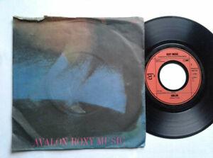 Roxy-Music-Avalon-7-034-Vinyl-Single-1982-mit-Schutzhuelle