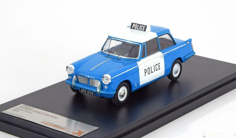 TRIUMPH HERALD UK POLICE 1962 PREMIUM X PRD323 1 43 UNITED KINGDOM