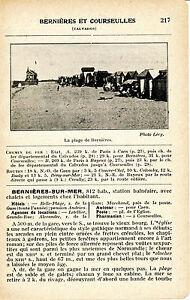 14-Bernieres-et-Courseulles-sur-Mer-1927-photo-guide-2-p-hotels-plages