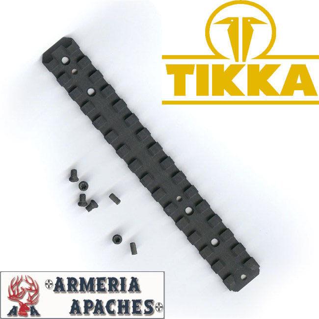 Slitta base attacco ottica mirino Tikka Picatinny rail t3 tac