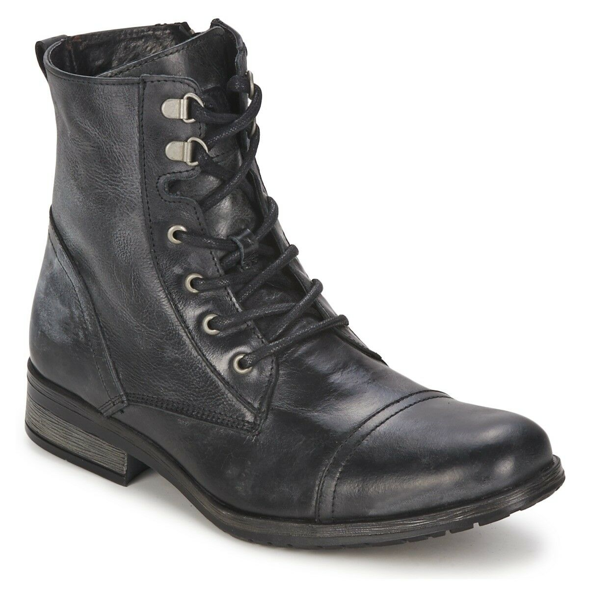 Handmade Hombre Negro Military boots, Hombre Negro high ankle Botas combat Botas ankle 7313af