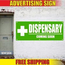 Dispensary Advertising Banner Vinyl Sign Flag Now Open Medical Cbd Coming Soon