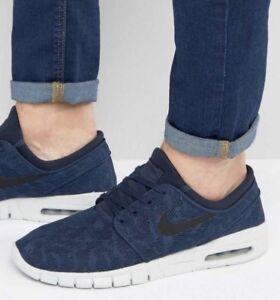 e2730e8c5674d New  Nike SB Stefan Janoski Max Men s Size 9.5 Obsidian Blue 631303 ...