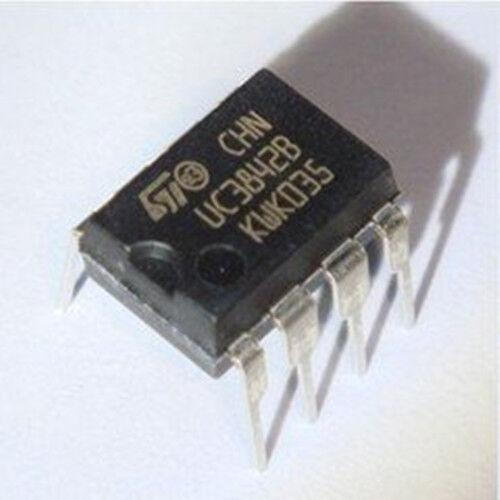 5 PCS New UC3842BN UC3842B UC38428 ST DIP8 ic chip