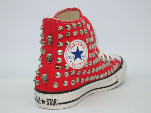 All Studs Chaussures Bleu Rouge Hi Noir Converse Gris Star Artisanat Skulls dPxwaT