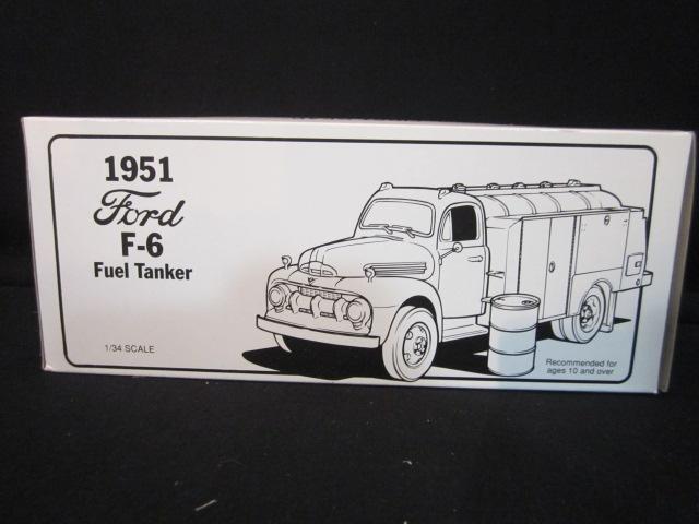 Der erste 1951 ford f - 6 treibstoff tanker (nib) texaco corp. 19-1229 angestellter problem