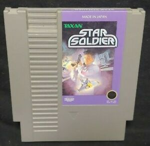 Star Soldier - Nintendo NES Game Rare Tested Authentic Original