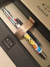 BRAND NEW PARKER VECTOR MEDIUM NIB FOUNTAIN PEN-TWEETY PIE-GIFT BOX