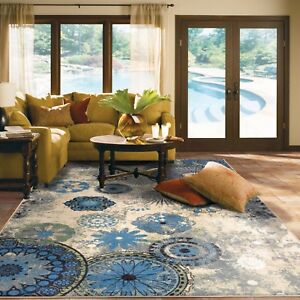 RUGS AREA RUGS CARPET 8x10 AREA RUG FLOOR BIG MODERN LARGE LIVING ...