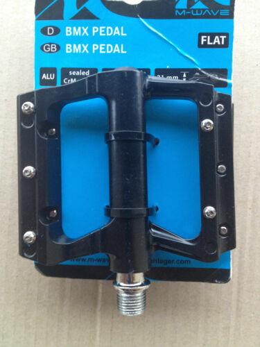 NEU Set links+rechts schwarz M-Wave MTB Plattformpedal