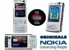 Nokia n95 SILVER (Senza SIM-lock) Smartphone WIFI 3g 5mp Flash GPS Finland NUOVO OVP