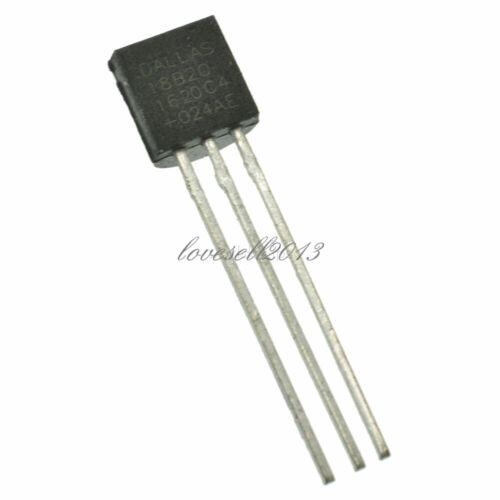 10//20//50PCS DS18B20 TO-92 9-12bit Temperature Sensor Dallas Thermometer Sensor