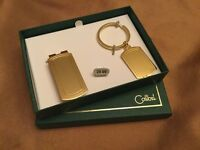Colibri Men's Gift Set Key Chain And Money Clip