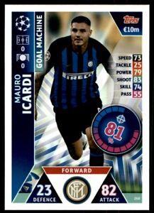 Man of the Match Karte 411 Champions League 18/19 Mauro Icardi